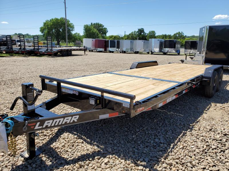 2020 Lamar Trailers 83x22 Tandem Axle Tilt Deck Equipment Trailer