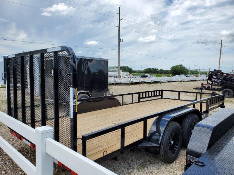 2021 Load Trail 83x18 Tandem Axle Utility Trailer