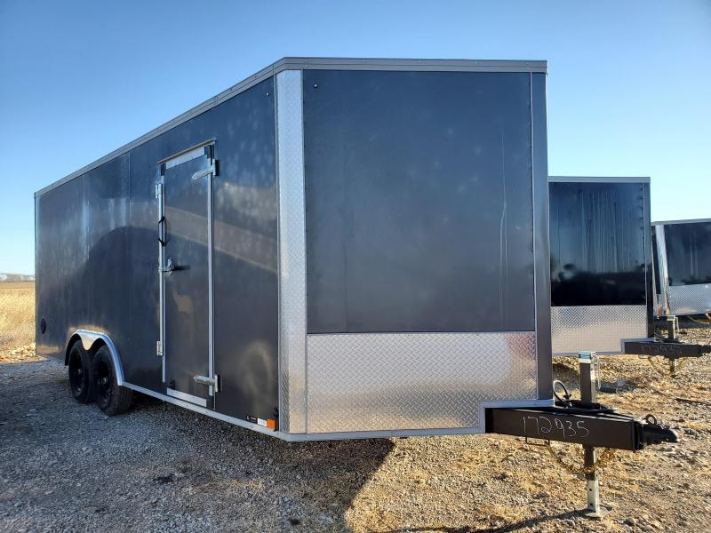 2021 United Trailers 8.5X20 TANDEM AXLE Enclosed Cargo Trailer