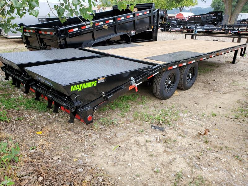 2021 Load Trail 102x24 Tandem Axle Deck Over Equipment Trailer