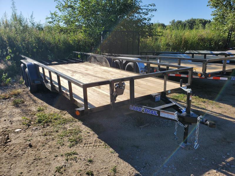 2021 Load Trail 83x20 Tandem Axle Carhauler Utility Trailer