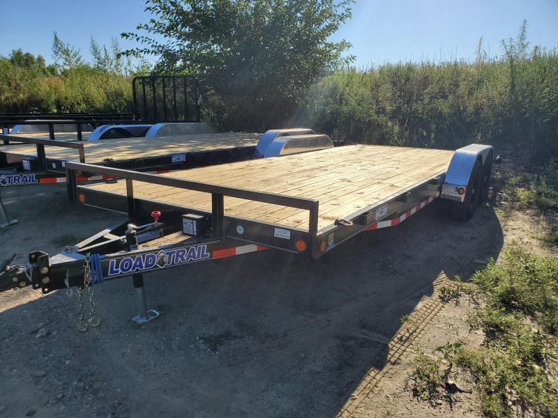 2021 Load Trail 83x20 Tandem Axle Carhauler Equipment Trailer