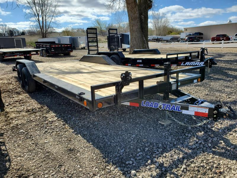 2021 Load Trail 102x22 Tandem Axle Carhaler Equipment Trailer