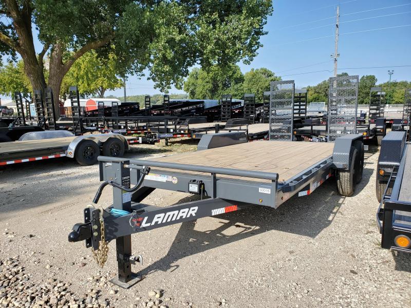 2021 Lamar Trailers 83x18 Tandem Axle Equipment Trailer