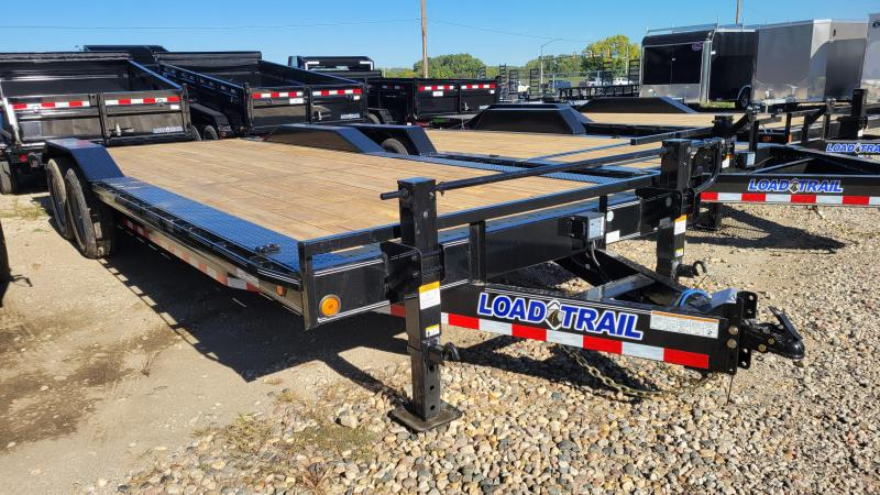 2022 Load Trail 83x24 Tandem Axle Carhauler Equipment Trailer