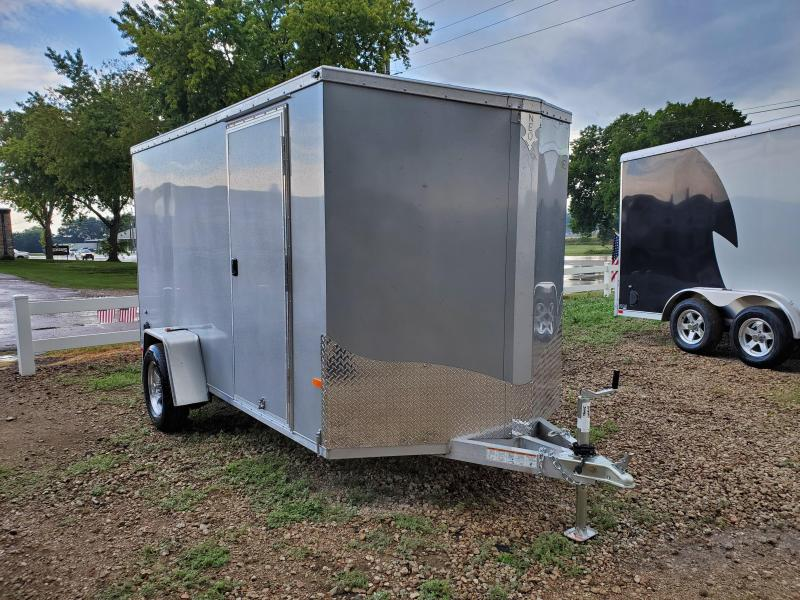 2021 NEO Trailers 6x12 Single Axle Aluminum Enclosed Cargo Trailer