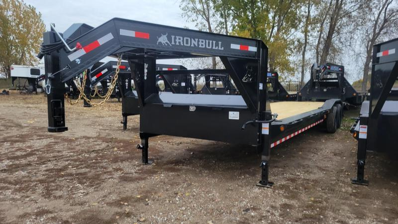 2022 Norstar Ironbull 102x32 Gooseneck Carhauler Equipment Trailer