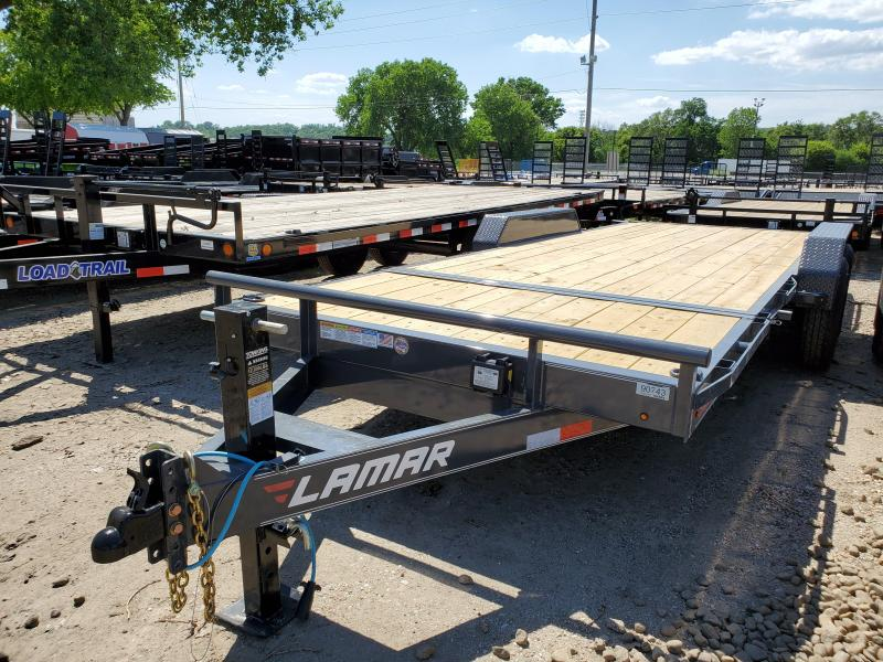 2020 Lamar Trailers 83x20 Tandem Axle Tilt Deck Equipment Trailer