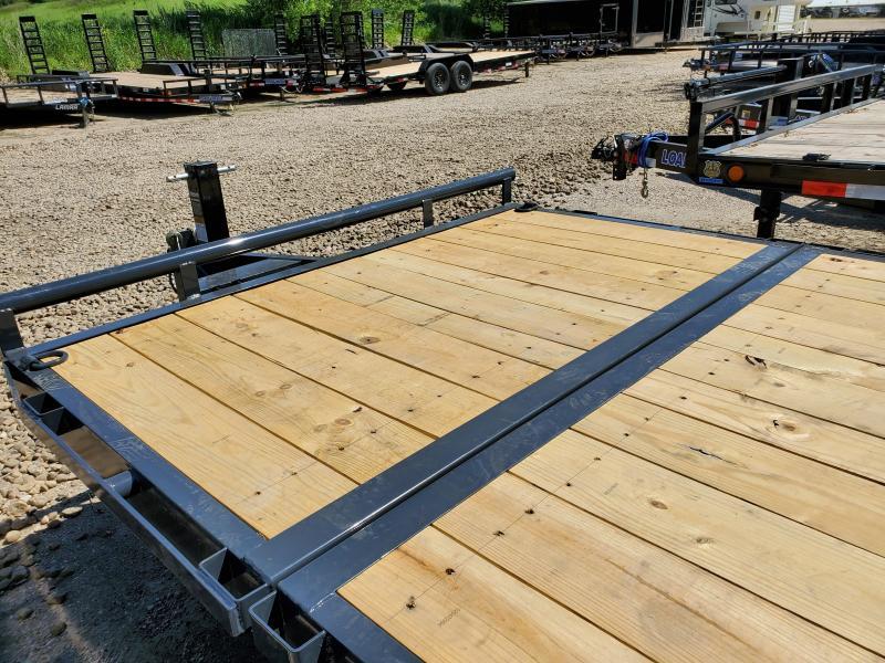 2020 Lamar Trailers 83x20 Tandem Axle Tilt Deck Equipment Trailer
