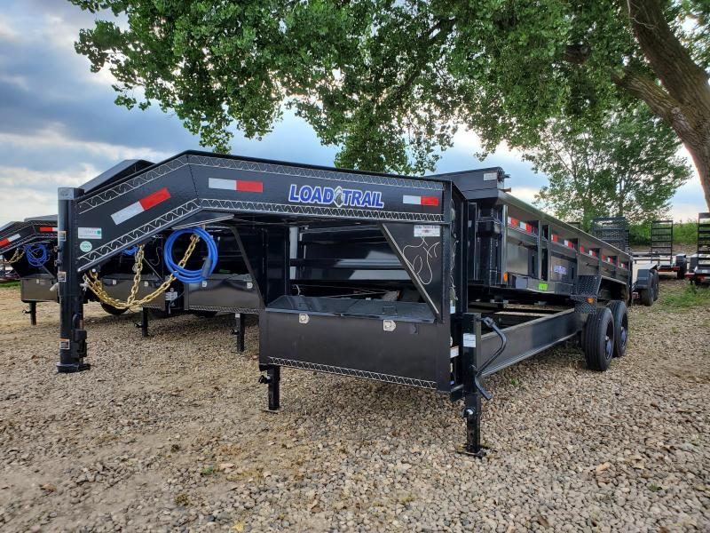 2020 Load Trail 83x20 Tandem Axle Gooseneck Dump Trailer