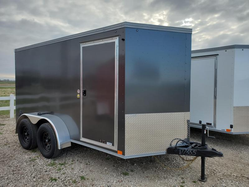 2021 United Trailers 6x12 Tandem Axle Enclosed Cargo Trailer
