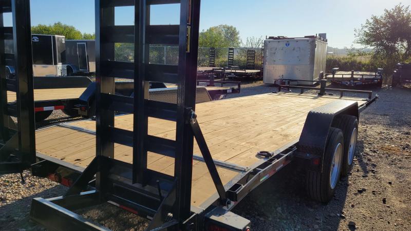 2022 Load Trail 83x22 Tandem Axle Carhauler Equipment Trailer