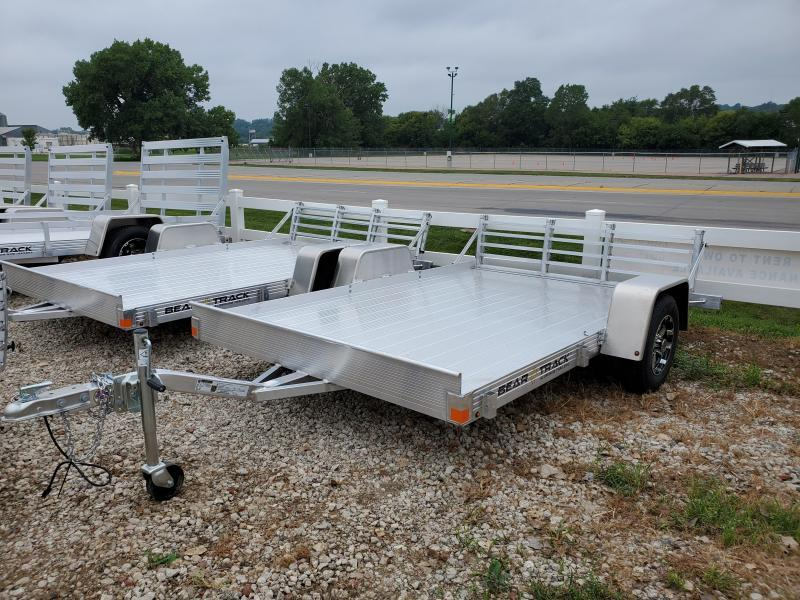 2021 Bear Track 76x10 Single Axle Aluminum Utility Trailer