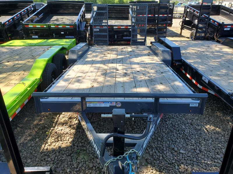 2020 Lamar Trailers 83x18 Tandem Axle Carhauler Equipment Trailer