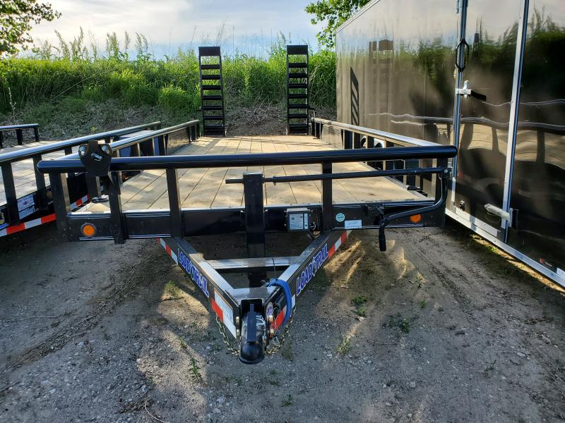 2020 Load Trail 83x20 Tandem Axle Carhauler Equipment Trailer
