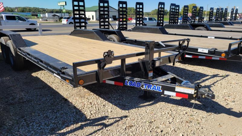2022 Load Trail 102x20 Tandem Axle Carhauler Equipment Trailer
