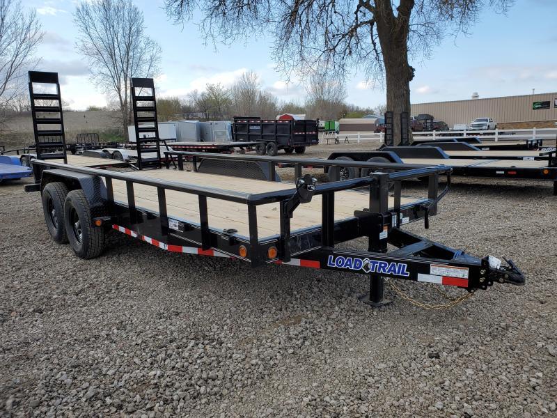 2021 Load Trail 83X18 LOAD TRAIL TANDEM AXLE Equipment Trailer