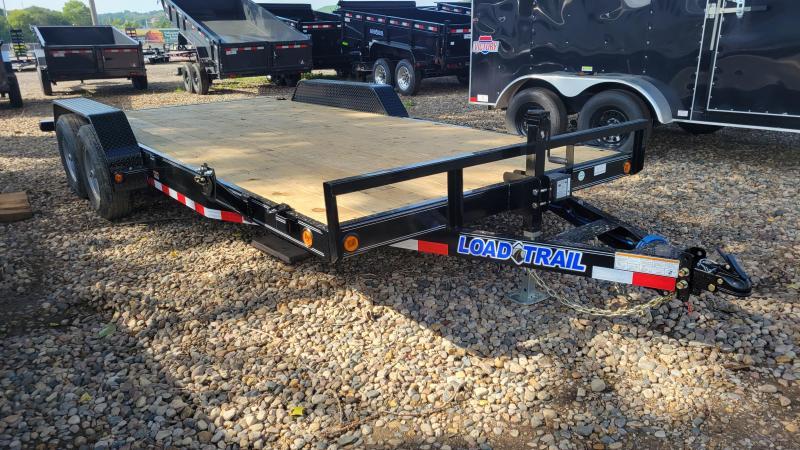"""2022 Load Trail 83""""X18' TANDEM AXLE CARHAULER Equipment Trailer"""