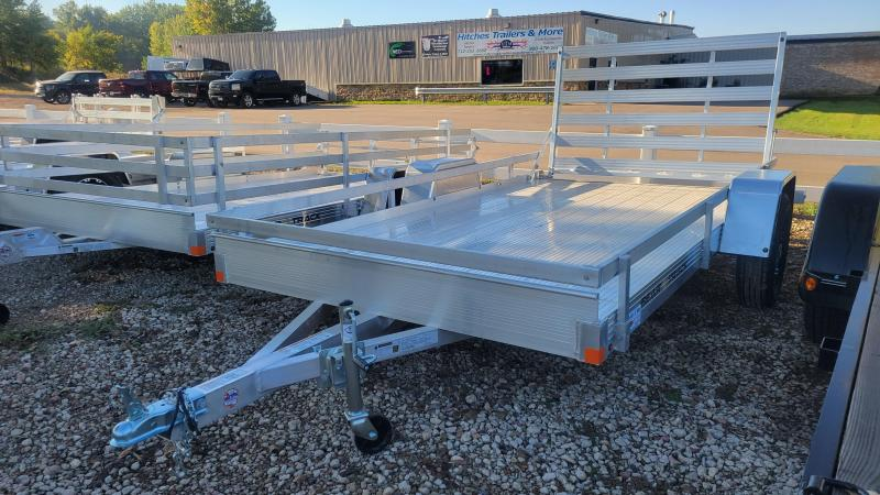 2022 Bear Track 76x12 Single Axle Aluminum Utility Trailer