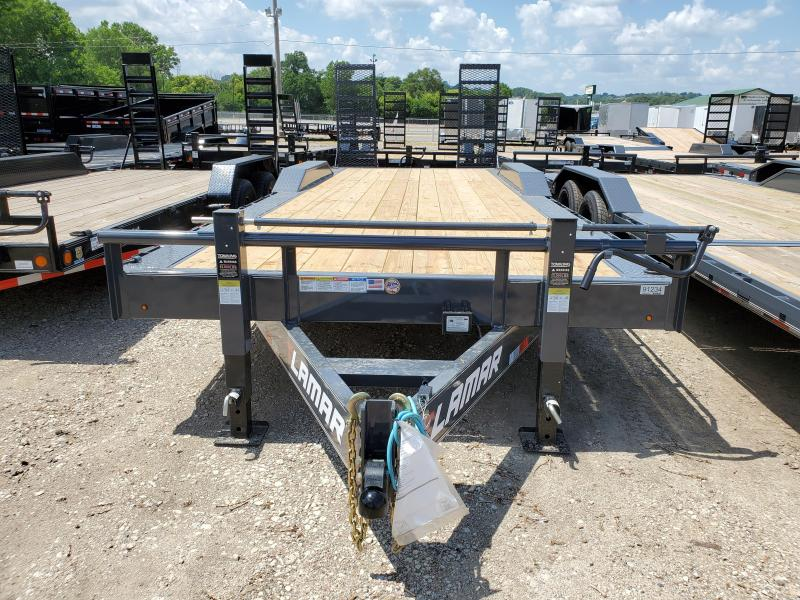 2020 Lamar Trailers 102x24 Tandem Axle Equipment Trailer