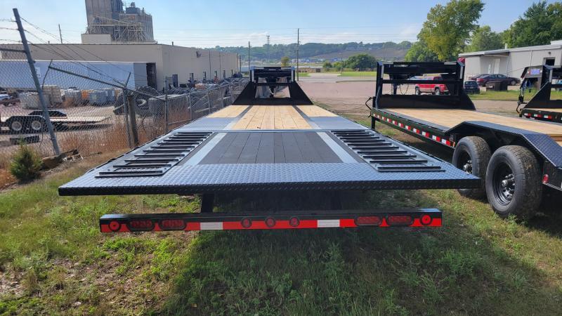 "2022 Load Trail 102""X32' TANDEM LOW PRO GOOSENECK W/HYD DOVE Equipment Trailer"