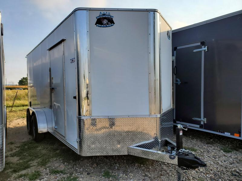 2021 Bighorn 7x16 Tandem Axle Contractor Enclosed Cargo Trailer