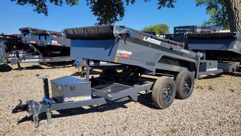 2021 Lamar Trailers 60x10 Tandem Axle Dump Trailer