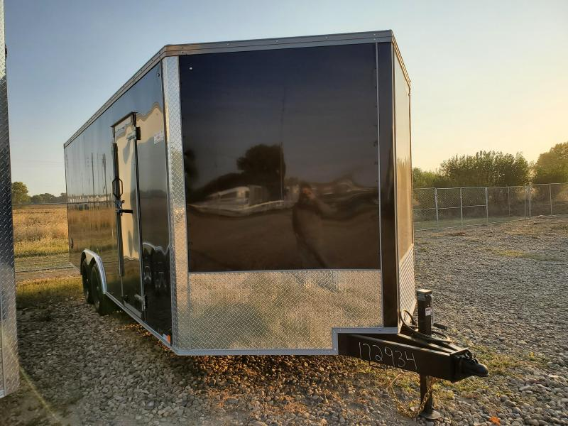2021 United Trailers 8.5' x 20 Tandem Axle Enclosed Cargo Trailer