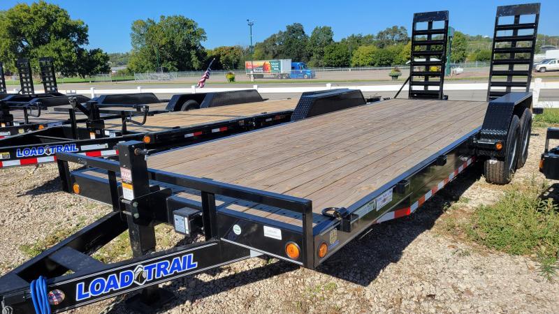 "2022 Load Trail 83""X 22' TANDEM AXLE Equipment Trailer"