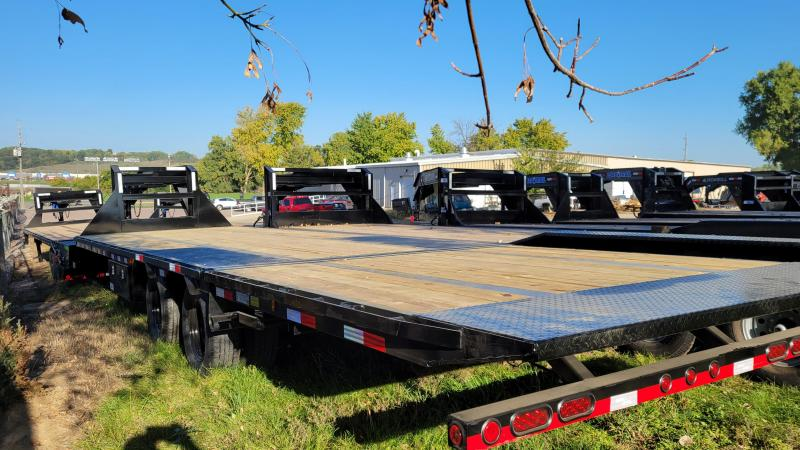 2022 Load Trail 102x32 Hydraulic Dove Gooseneck Flatbed Trailer