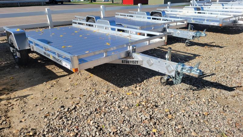 2022 Bear Track 81x12 Aluminum Tilt Deck Utility Trailer