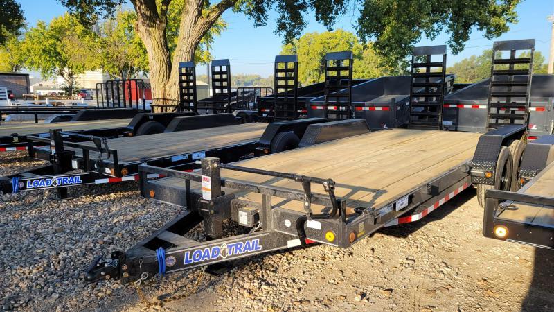 2022 Load Trail 83x20 Tandem Axle Carhauler Equipment Trailer