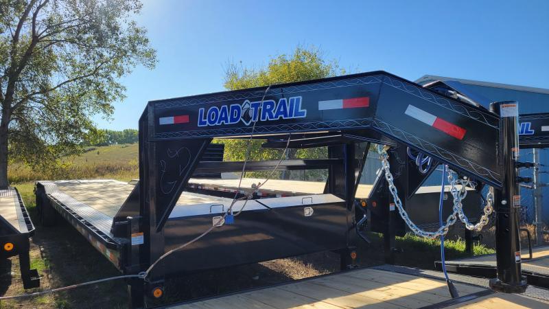 2022 Load Trail 102x40 Triple Axle Gooseneck Carhauler Equipment Trailer