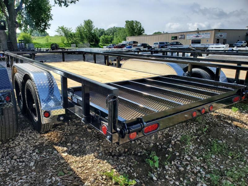 "2021 Load Trail 83""X16"" TANDEM AXLE Utility Trailer"