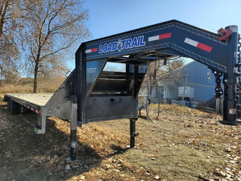 USED 2020 Load Trail 102x36 Low Pro Gooseneck Flatbed Trailer