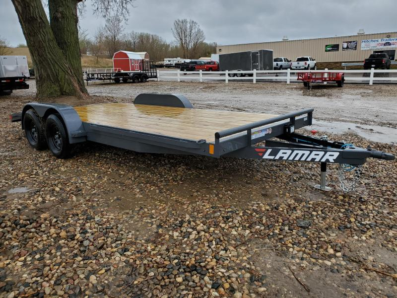 "2021 Lamar Trailers 2021 LAMAR 83""X18' EQUIPMENT HAULER Equipment Trailer"