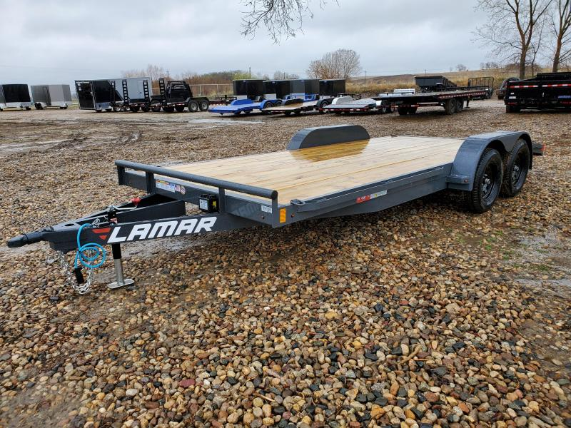 "2021 Lamar Trailers 2021 LAMAR 83""X18' EQUIPMENT HAULER Equipment Trailer"