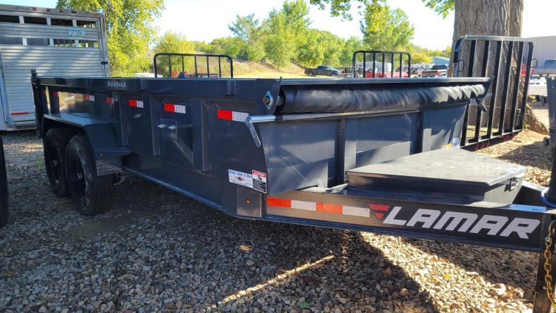 2021 Lamar Trailers 83x16 Low Pro Dump Trailer