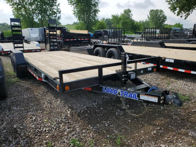 """2021 Load Trail 83""""X20' TANDEM Equipment Trailer"""