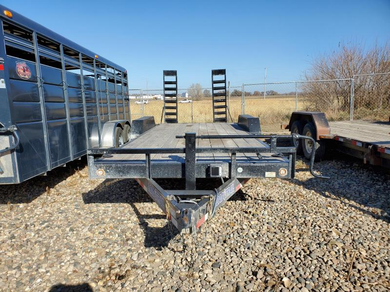 USED 2020 Load Trail 83X20 Tandem Axle Carhauler Equipment Trailer