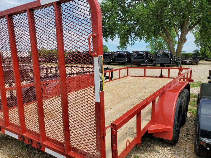 2020 Load Trail 83x16 Tandem Axle Utility Trailer