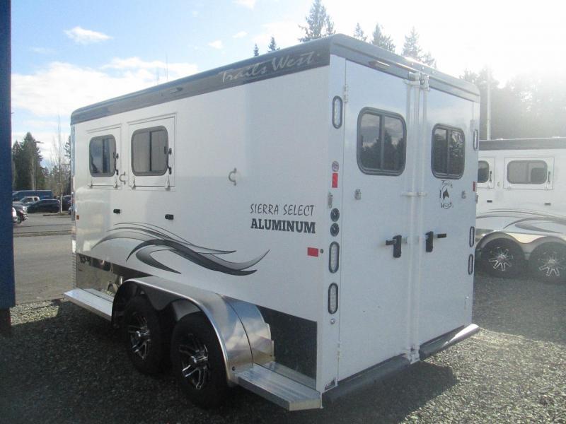 2021 Trails West Sierra Select II Horse Trailer