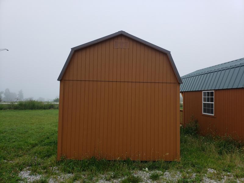 2021 Amish Built Side Lofted Barn                       10 x 16   Barn