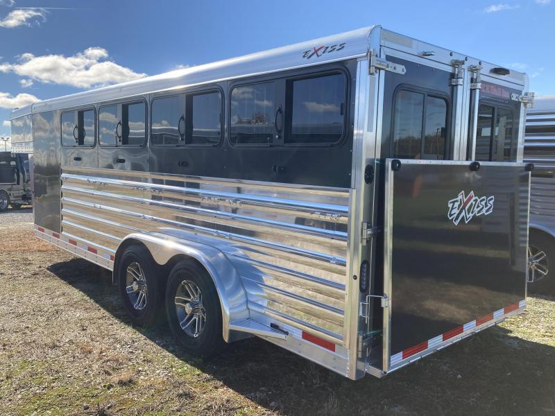2020 Exiss Trailers Exiss Exhibitor 7020W Livestock Trailer