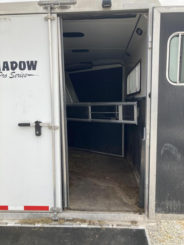 2015 Shadow Trailers Horse Trailer