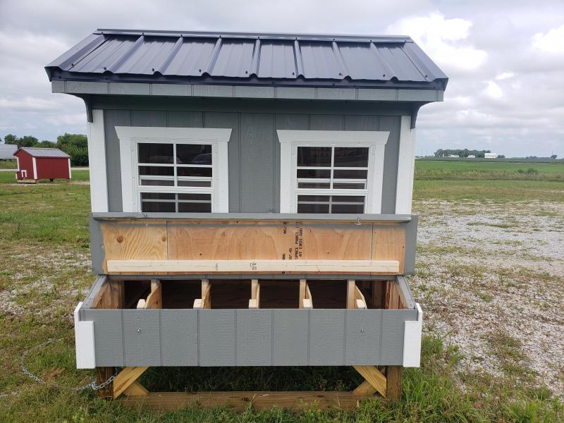 2021 Amish Built Chicken Coop                       5 x 6