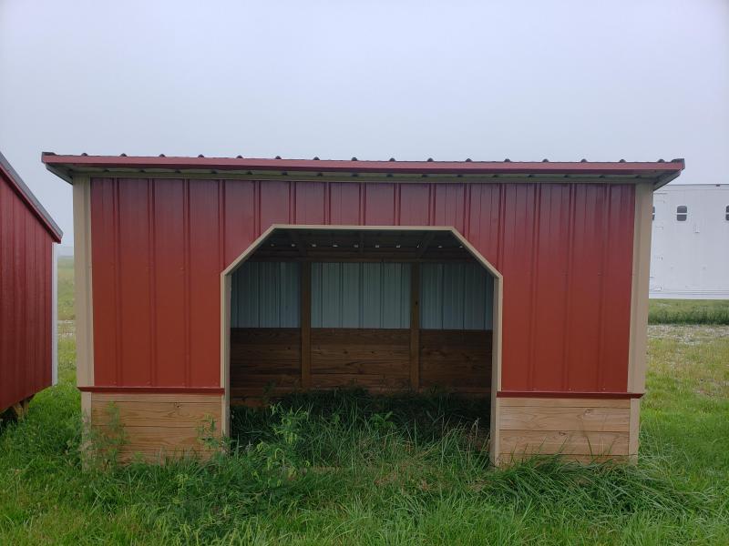 2021 Amish Built Horse Shelter                     8 X 12