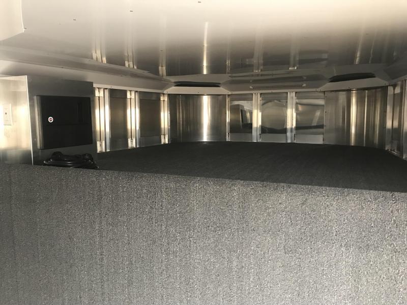 2019 Exiss Exhibitor 8026 10 Pen Trailer -AC-Fans-Flooring