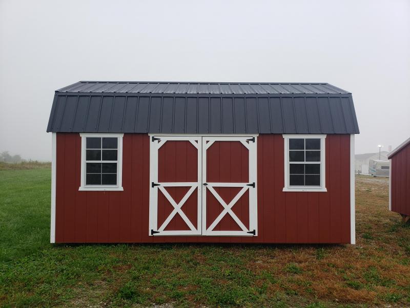 2021 Amish Built Side Lofted Barn                        10x18
