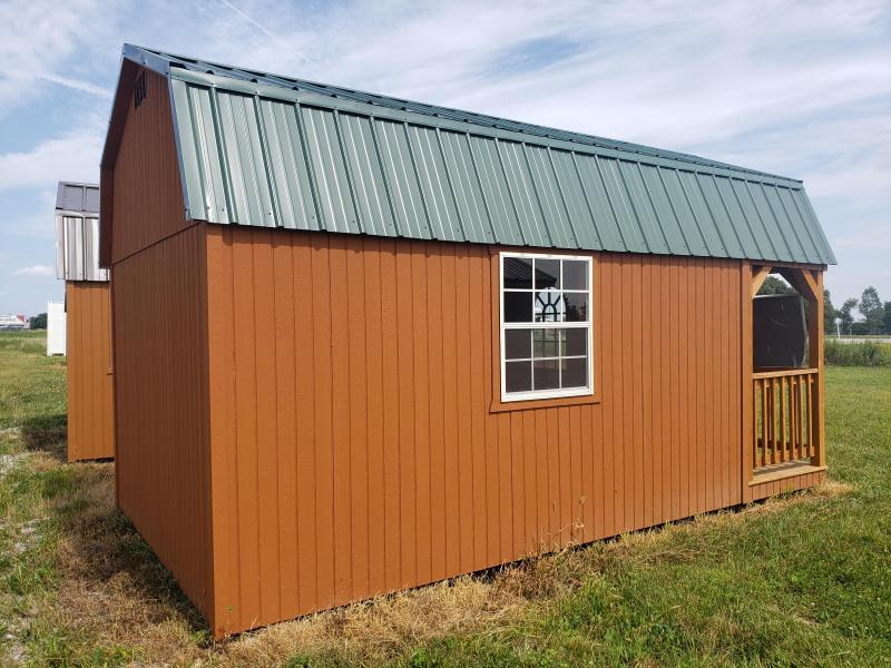 2021  Amish Built Lofted Cabin                                                 10 x 18                        10 x 18 Barn